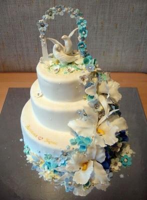 Торт Голубки 8кг