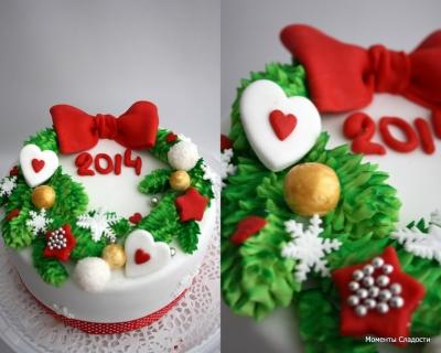 Торт Новогодний №20 2кг
