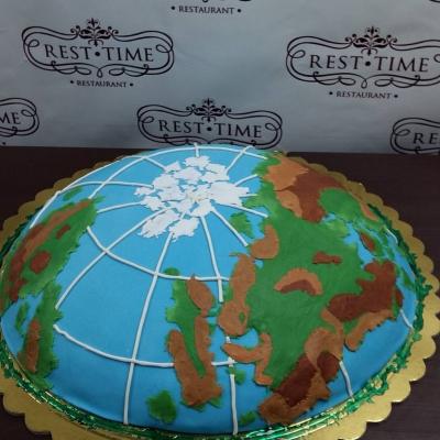 Торт Для географа 5кг
