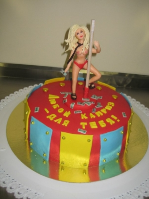 Торт Стриптиз 2кг