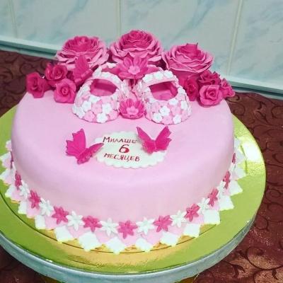 Детский торт №126 за 1кг