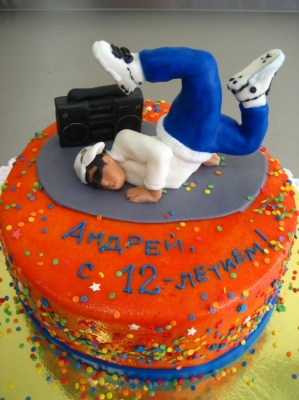 Торт Брейк Данс 2кг