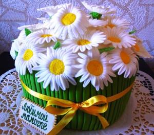 Торт Ромашки мамочке 3кг
