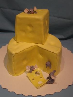 Торт Мышки в сыре 3,5кг