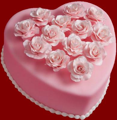 Торт С любовью №1  2кг