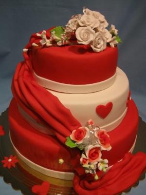 Торт Свадебный переполох 7кг