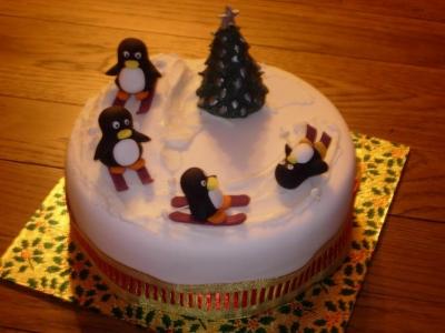 Торт Новогодний № 41 2кг