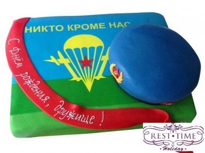 Торт ВДВ №1 3кг