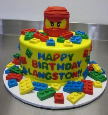 Торт Лего ниндзяго №2 за 1кг