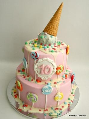 Детский тортик №109 за1кг