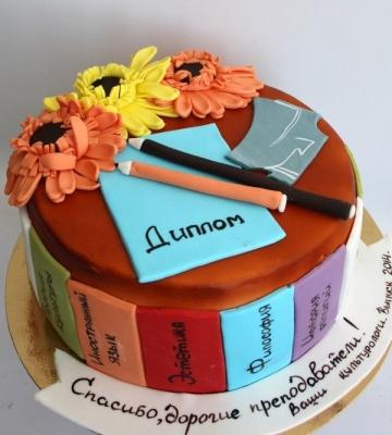 Торт День знаний 2кг