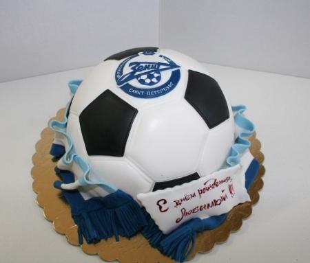 торт с надписью зенит фото