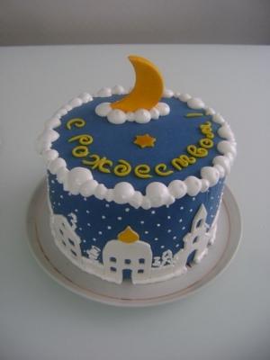 Торт С рождеством 2 кг