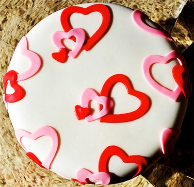 Торт Валентинка-2  2кг