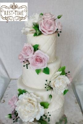 Торт Свадебный № 89 10кг
