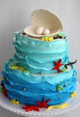 Торт Морской бриз 3 кг