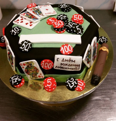 Торт Покер 2,5кг
