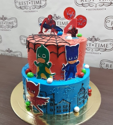 Торт детский Герои в масках за кг
