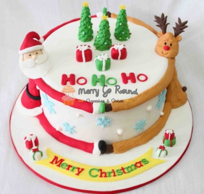 Торт Новогодний №1 2,5кг
