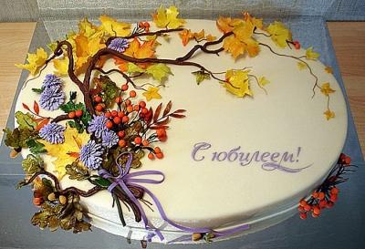 Торт Осень 2кг