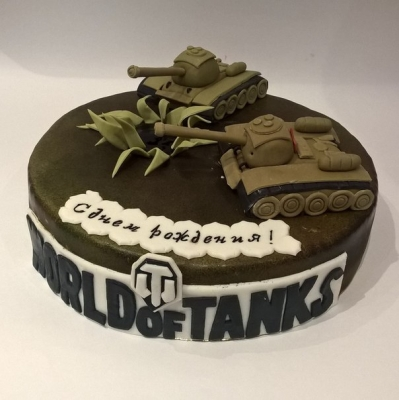 Торт World of Tanks №5 за 1кг