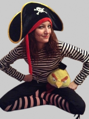 Аниматор Пиратка 1 час